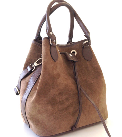 Beckenham Drawstring Bag (Brown)
