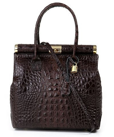 Bromley Classic Tote (Dark Brown)