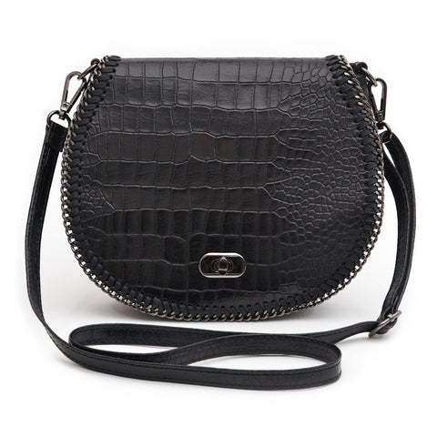 Chelsea Crossbody Bag (Black)