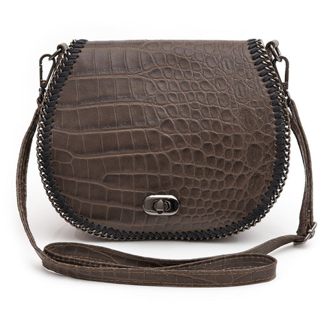 Chelsea Crossbody Bag (Brown)