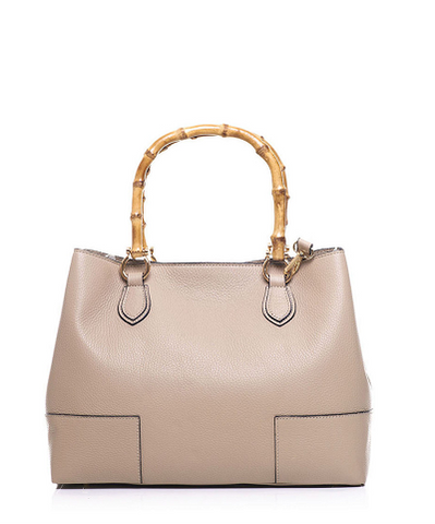Richmond Leather Tote (Taupe)
