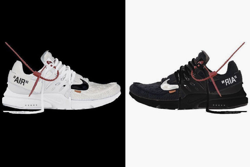 First look at the Off White x Nike Presto's two new color ways, Cop or Drop?