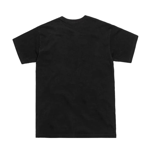 Arched Logo Tee Black (Oversized Print)