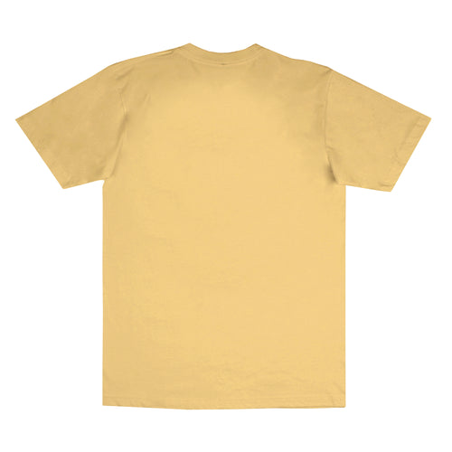 Arched Logo Tee Yellow (Oversized Print)