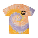 Good Mood Tie Dye Tee - Sunflower