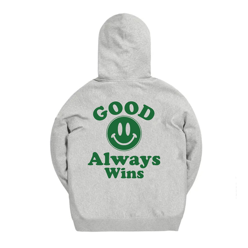 Good Mood Hoodie - Gray