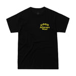 Good Mood Tee - Black/Yellow
