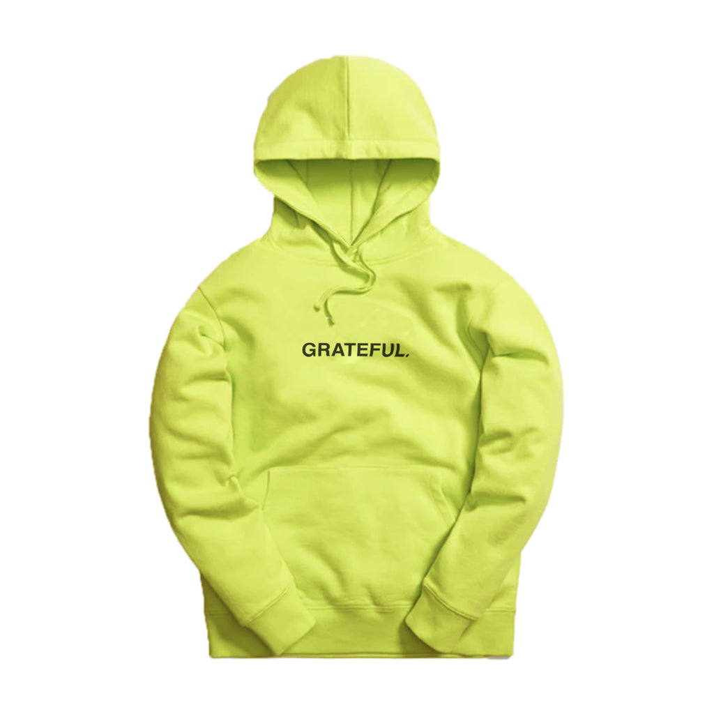 Bar Logo Hoodie Safety Yellow/Black