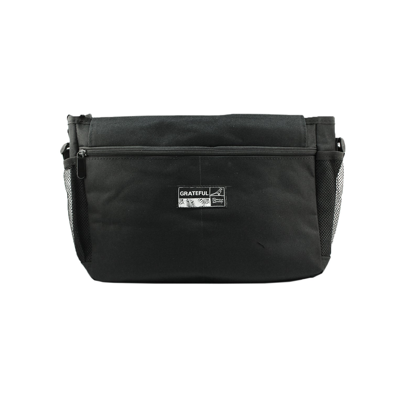 Black Grateful Shoulder Bag