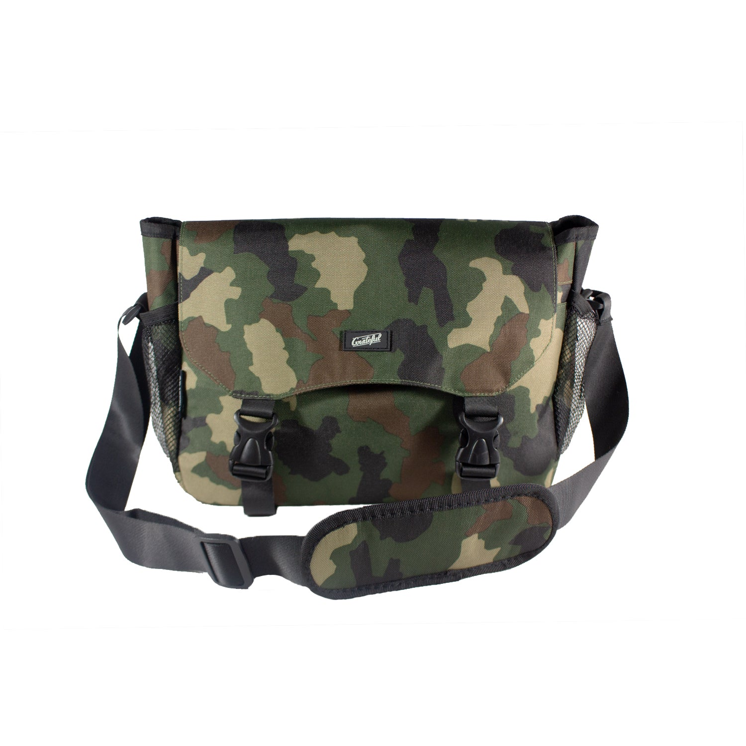 Camo Grateful Shoulder Bag