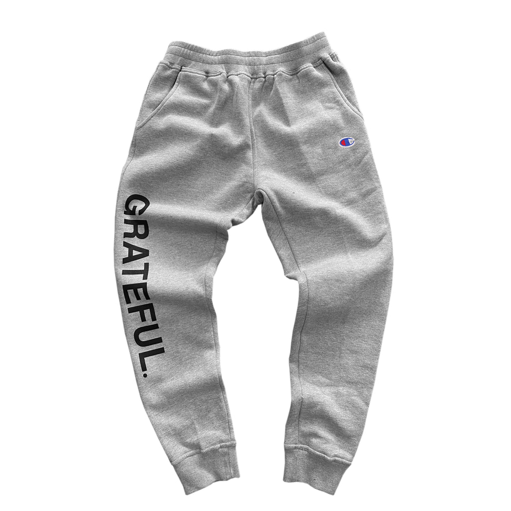 Grateful X Champion Jogger (Gray)