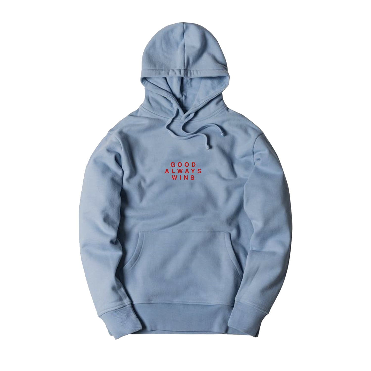 Good Always Wins Hoodie [Blue]