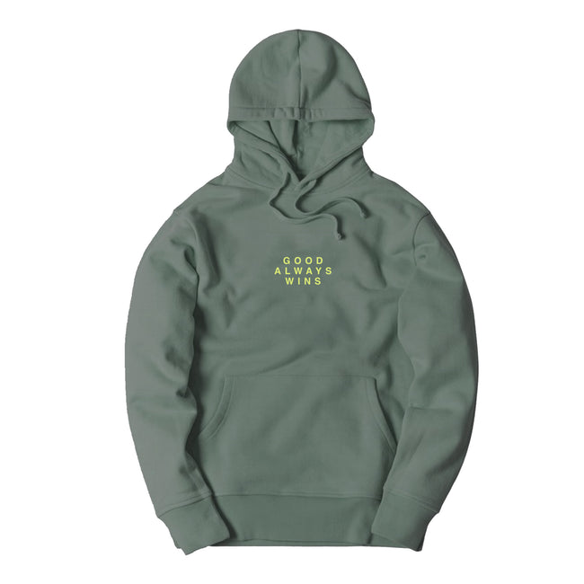 Good Always Wins Hoodie [Green]