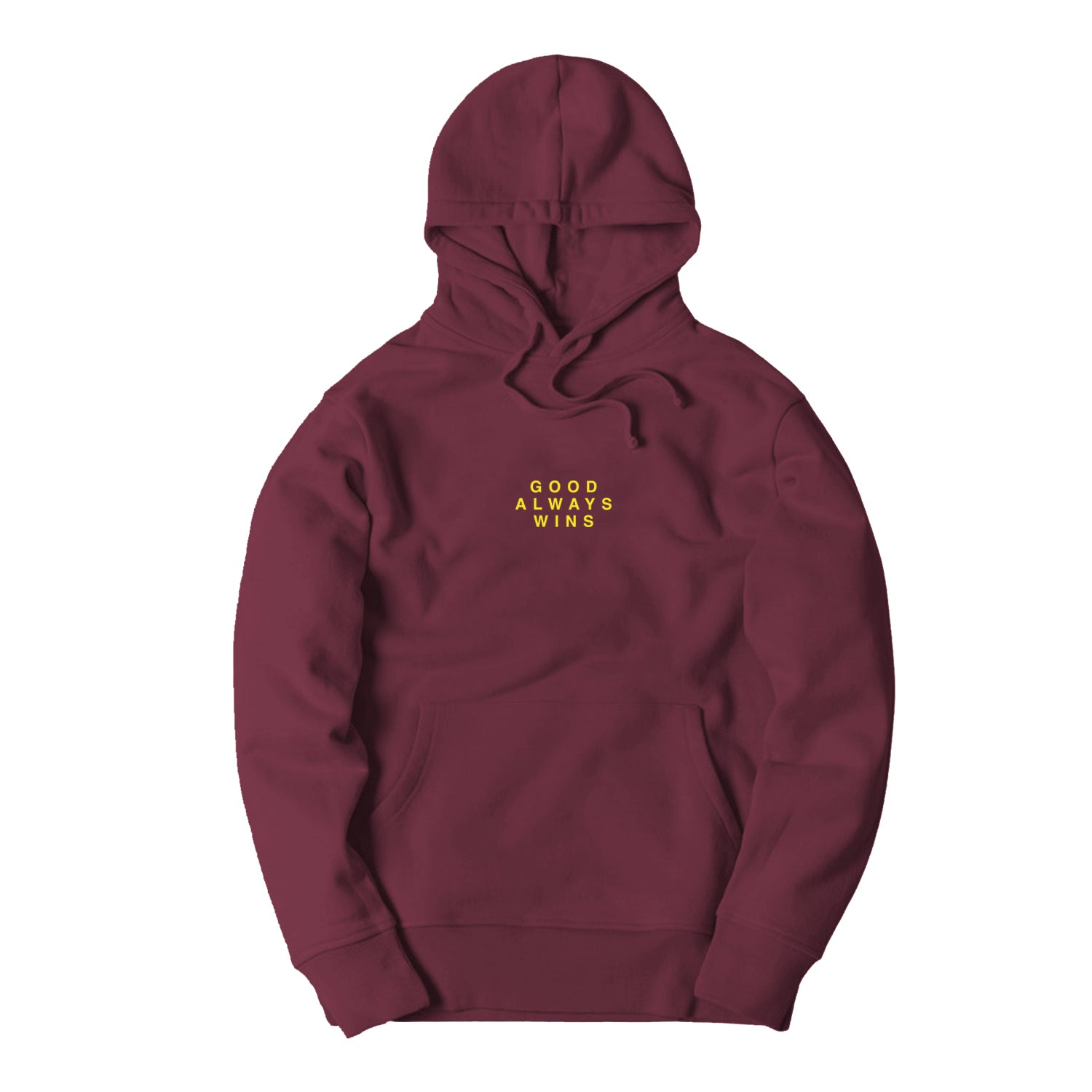 Good Always Wins Hoodie [Maroon]