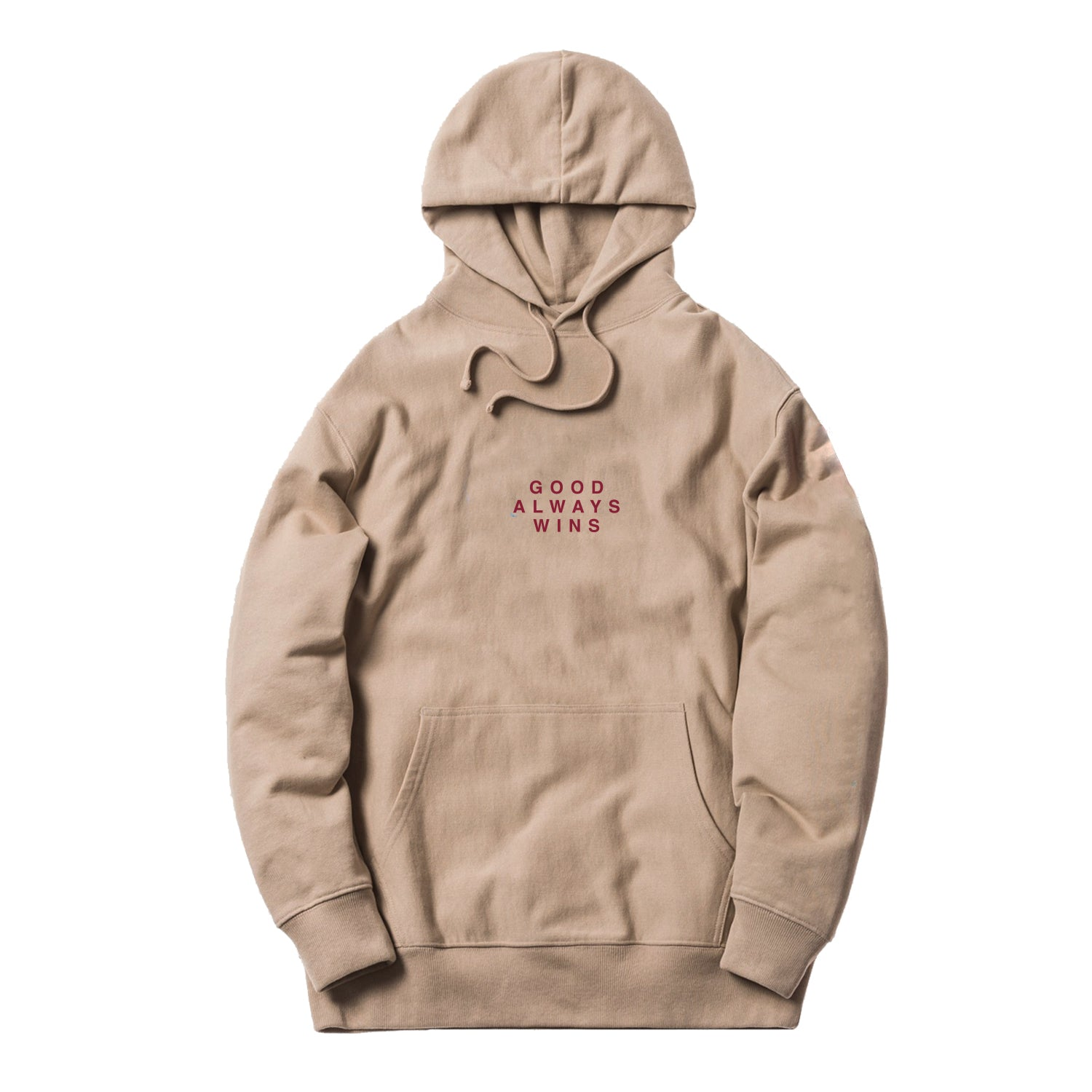 Good Always Wins Hoodie [Sand]