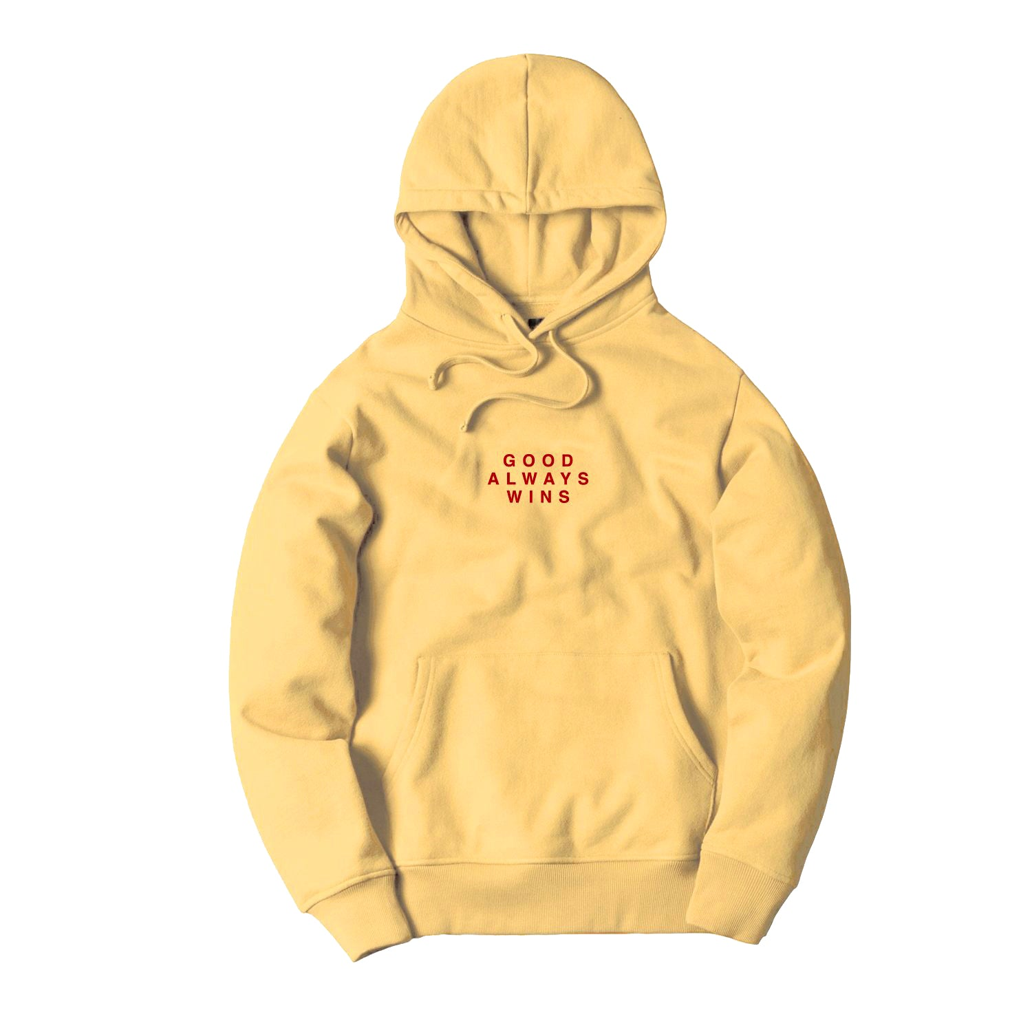 Good Always Wins Hoodie [Yellow]