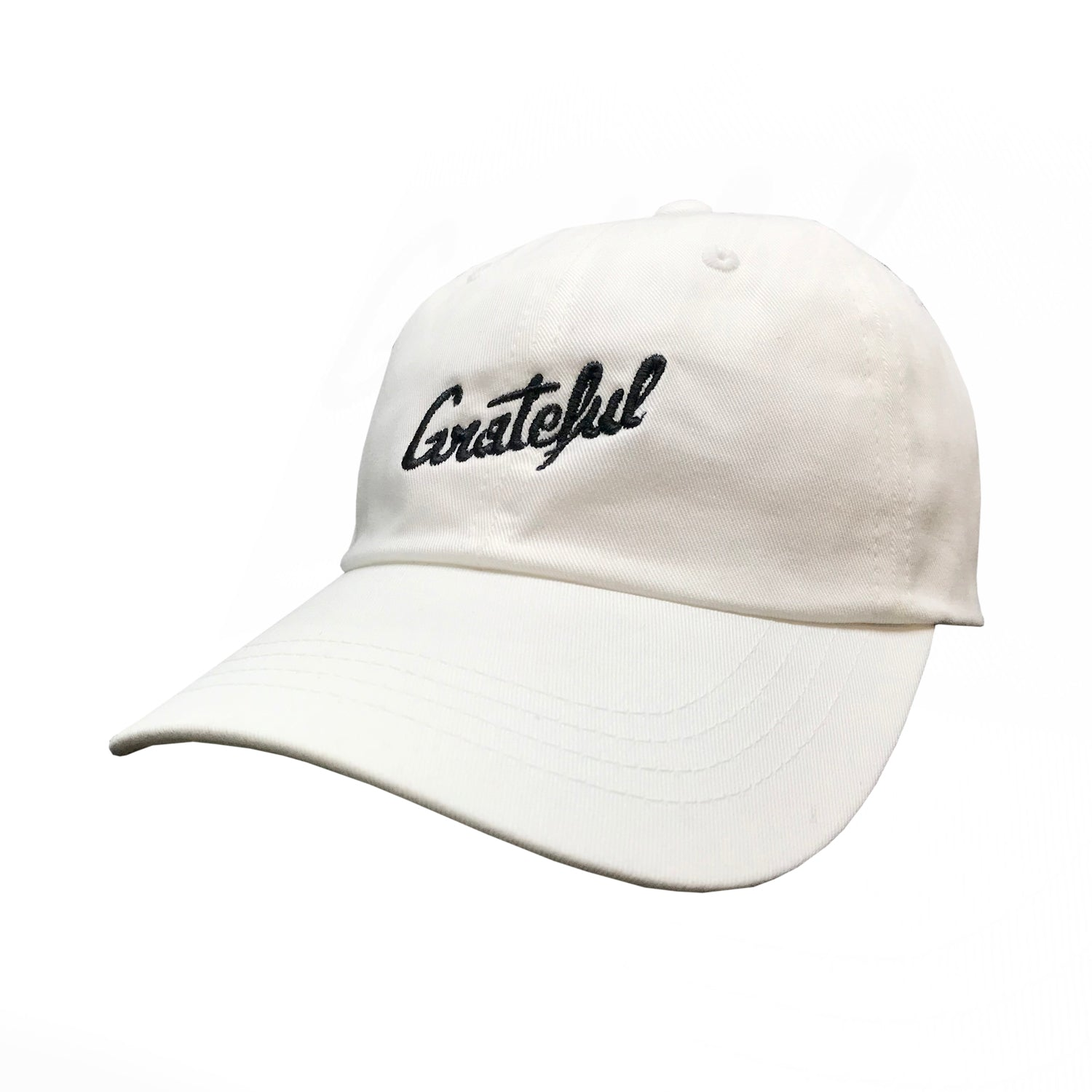 Script Flow Dad Hat  - White/Black