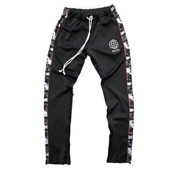 Midnight Camo Joggers // Black