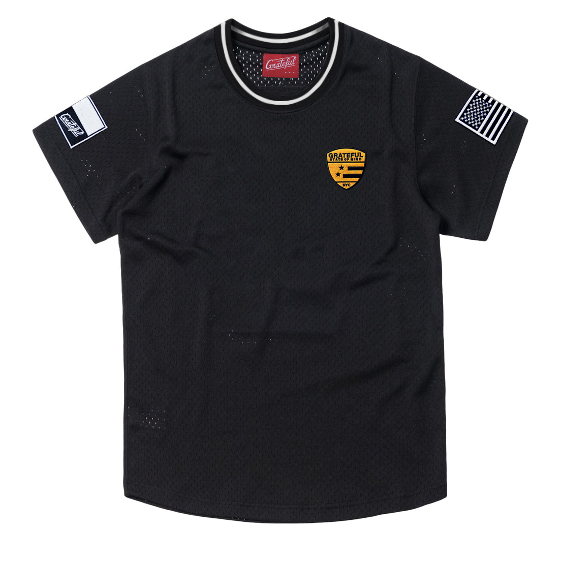 Lux Striker Jersey, Black  [Customizable]