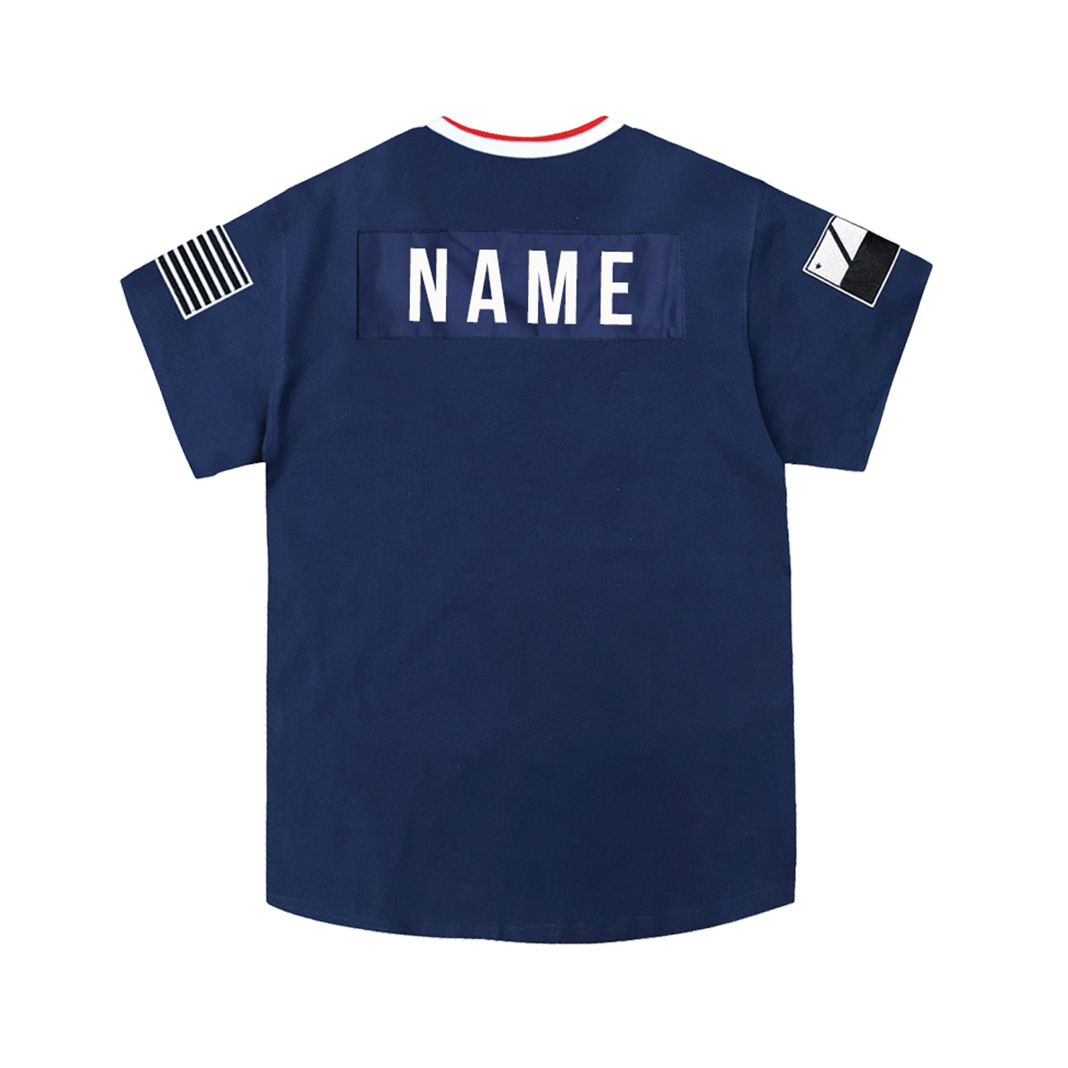 Navy Lux Striker Jersey 2.0 [Customizable]
