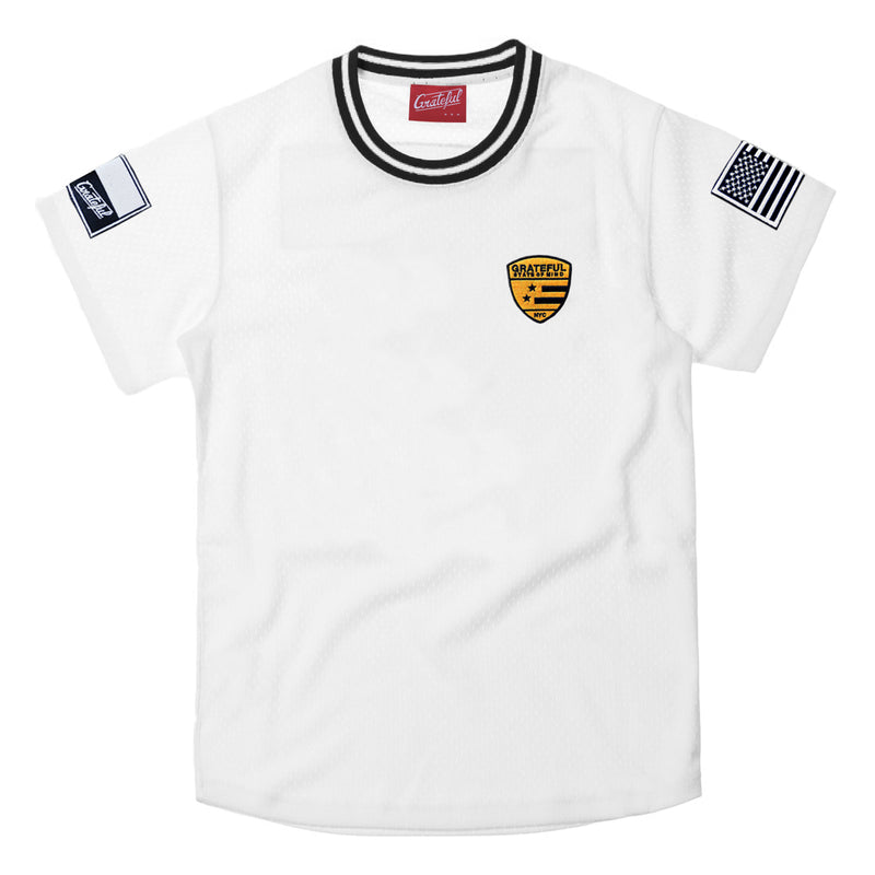 Lux Striker Jersey, White [Customizable]