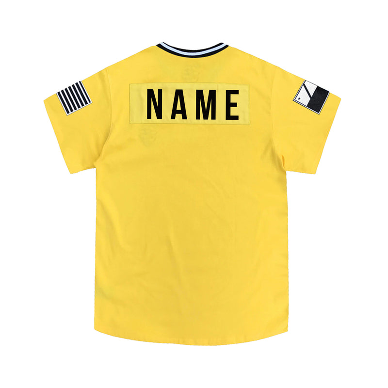 Yellow Lux Striker Jersey 2.0 [Customizable]
