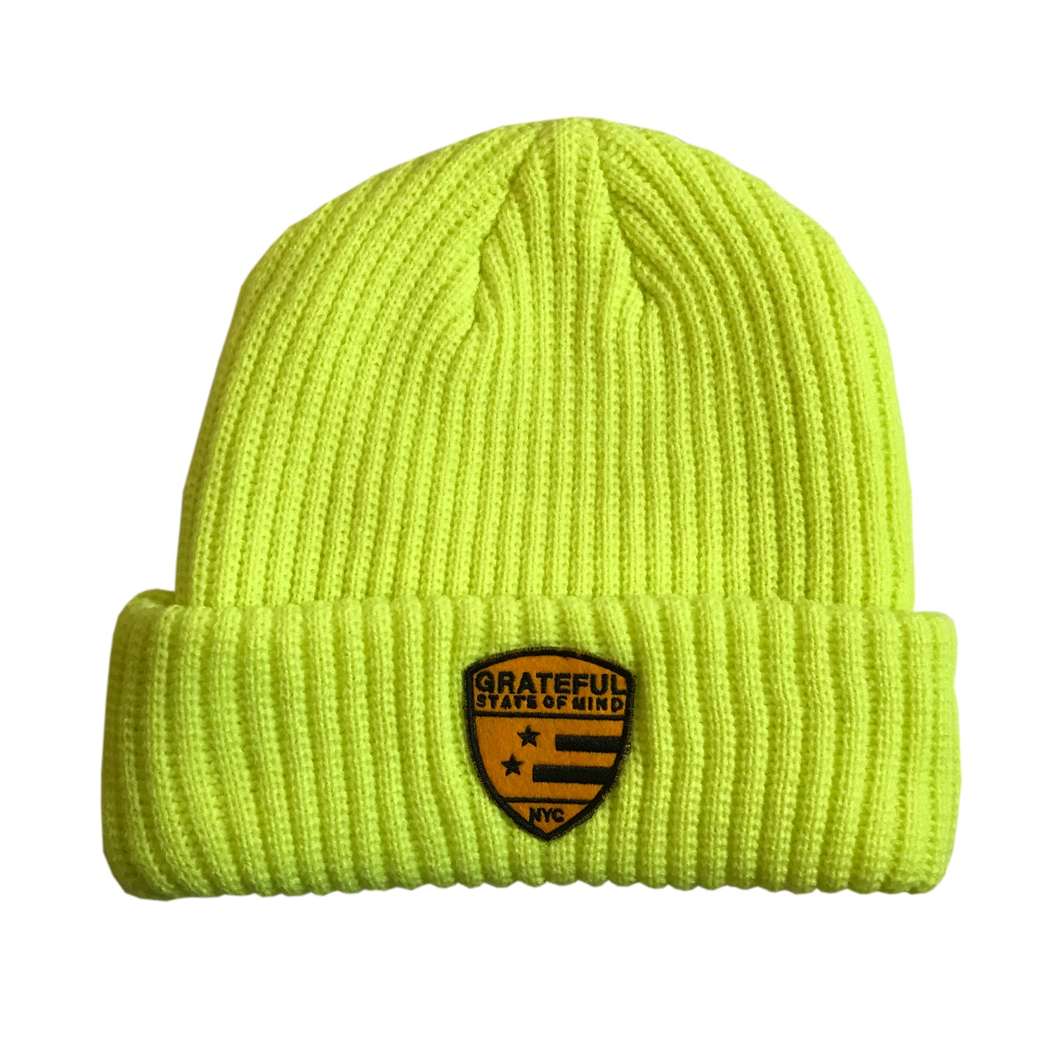 State of Mind Beanie [Neon Yellow]