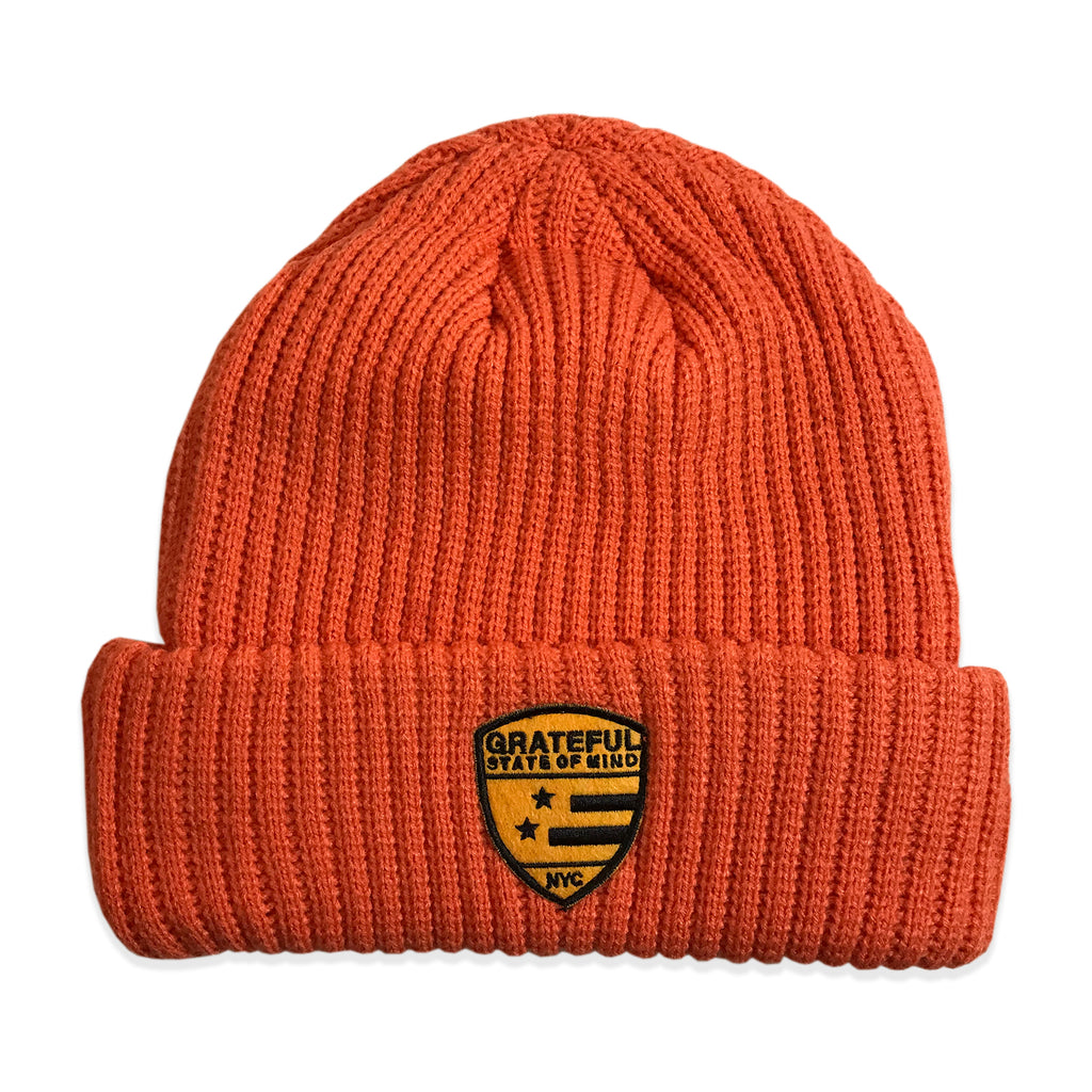 State of Mind Beanie [Orange]