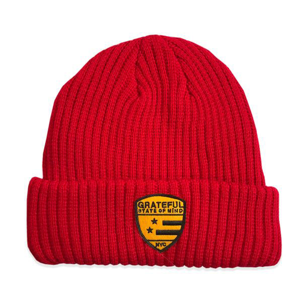 State of Mind Beanie [Red]