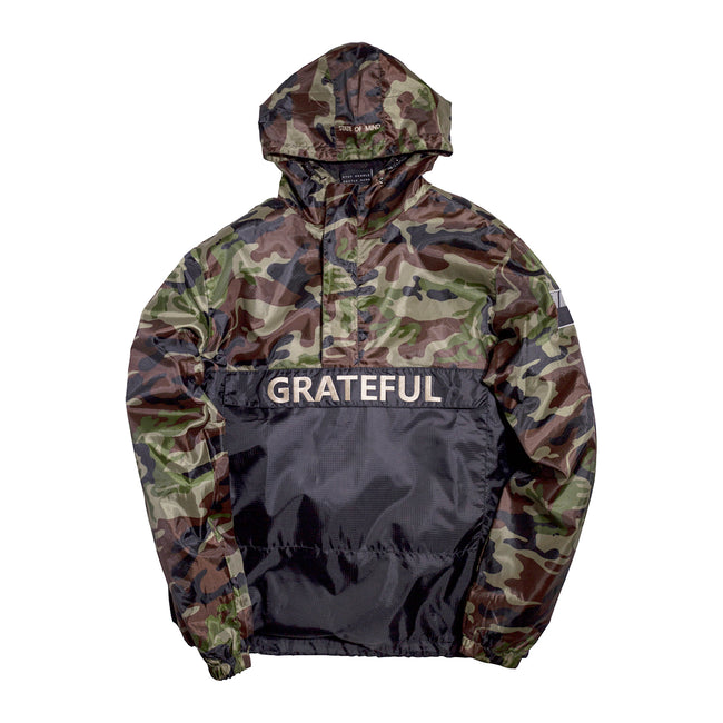 Northern Camo Anorak Jacket
