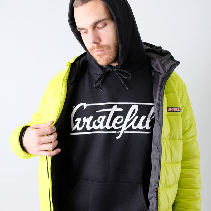 Grateful Flow Hoodie - Black