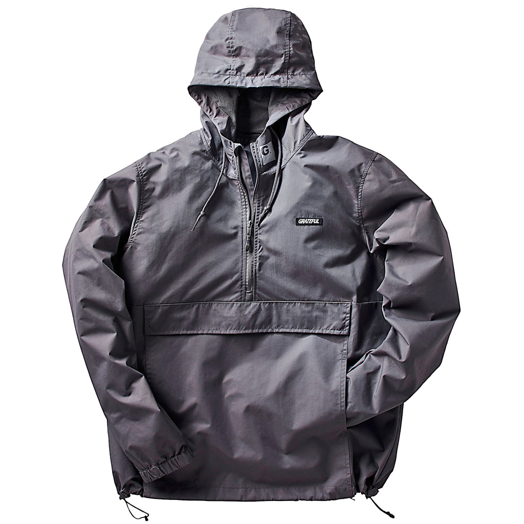 Gray Reflective Northern Anorak Jacket