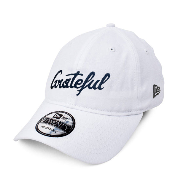 New Era X Grateful Hat // White