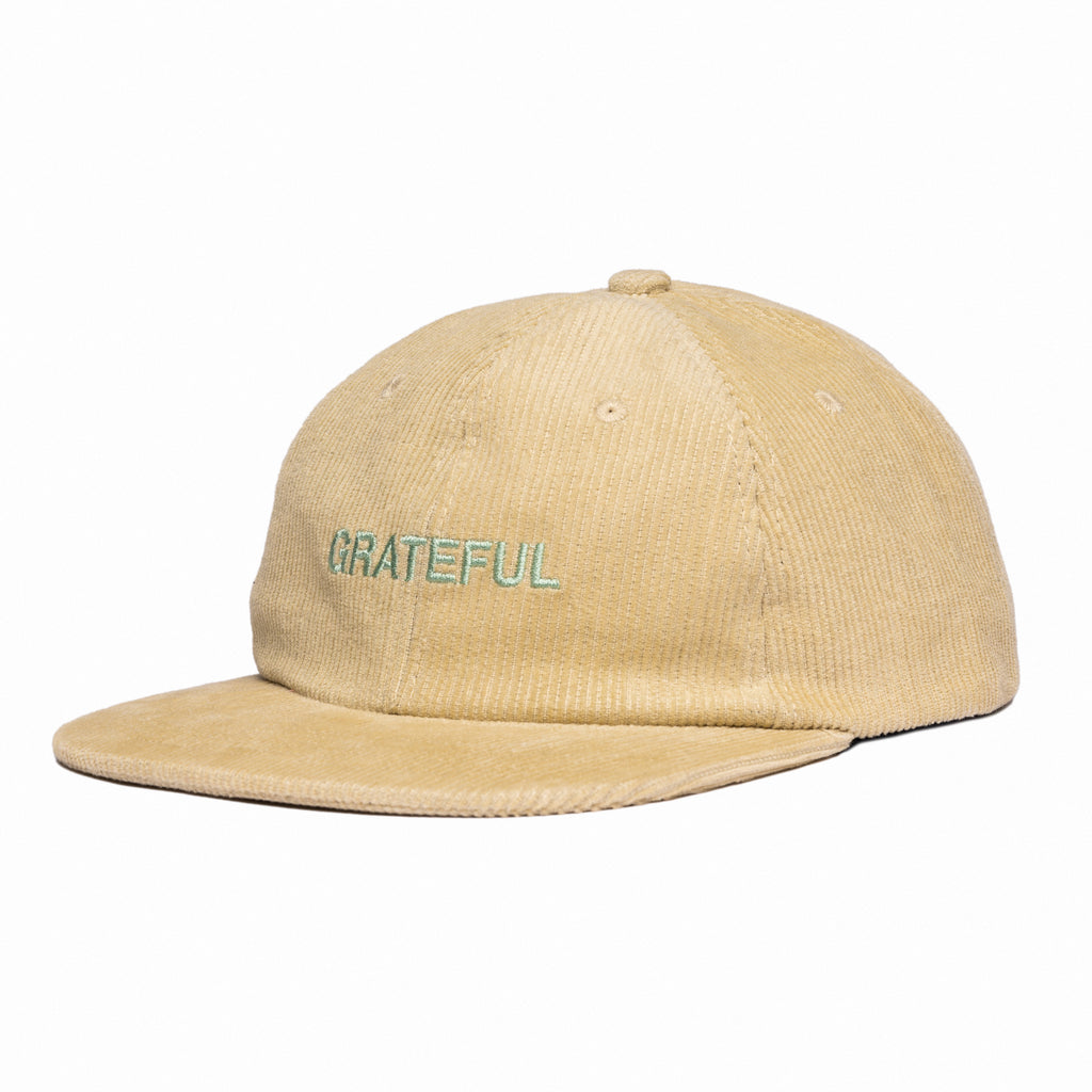 Grateful Corduroy 6-Panel [Sand]