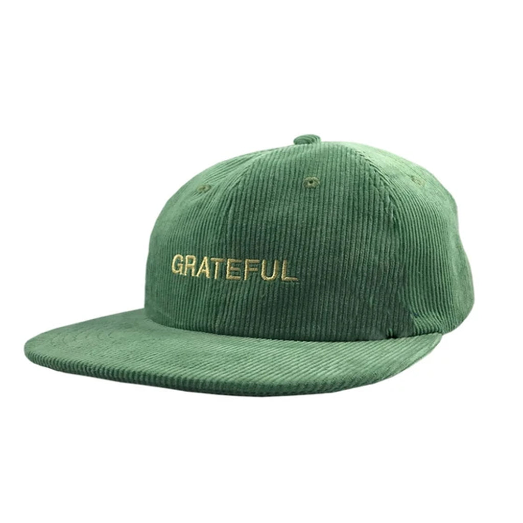 Grateful Corduroy 6-Panel [Leaf Green]