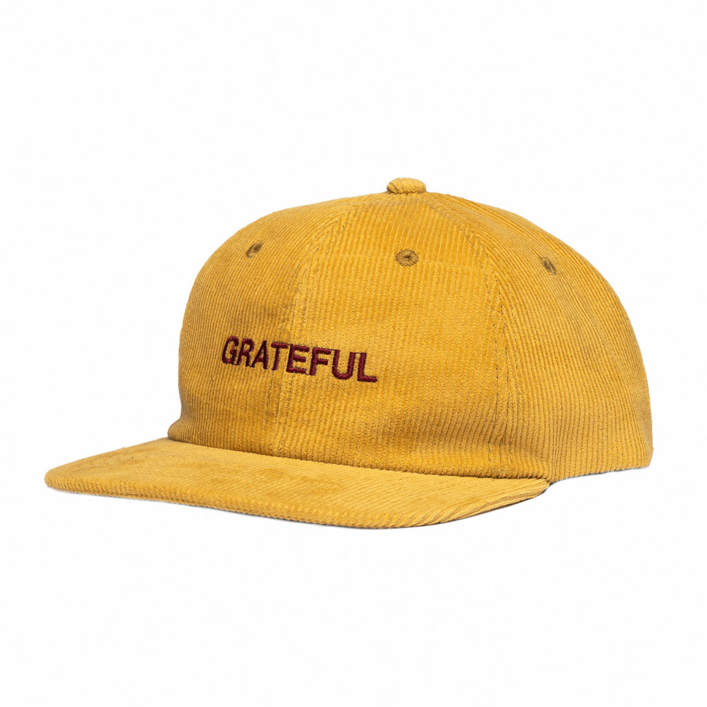 Grateful Corduroy 6-Panel [Mustard]