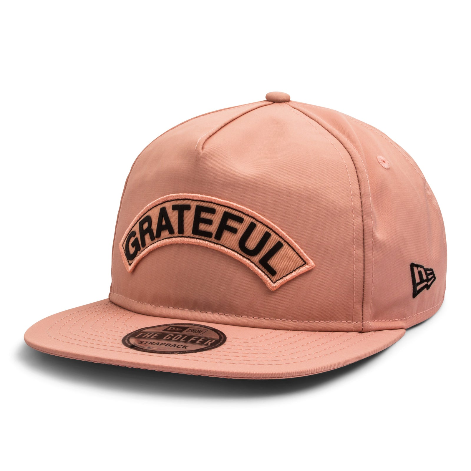 Grateful x New Era Golf Hat    Peach – GRATEFUL APPAREL 3a7f28e26d3