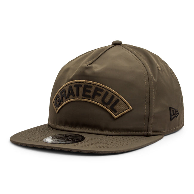 Grateful x New Era Golf Hat // Army Green