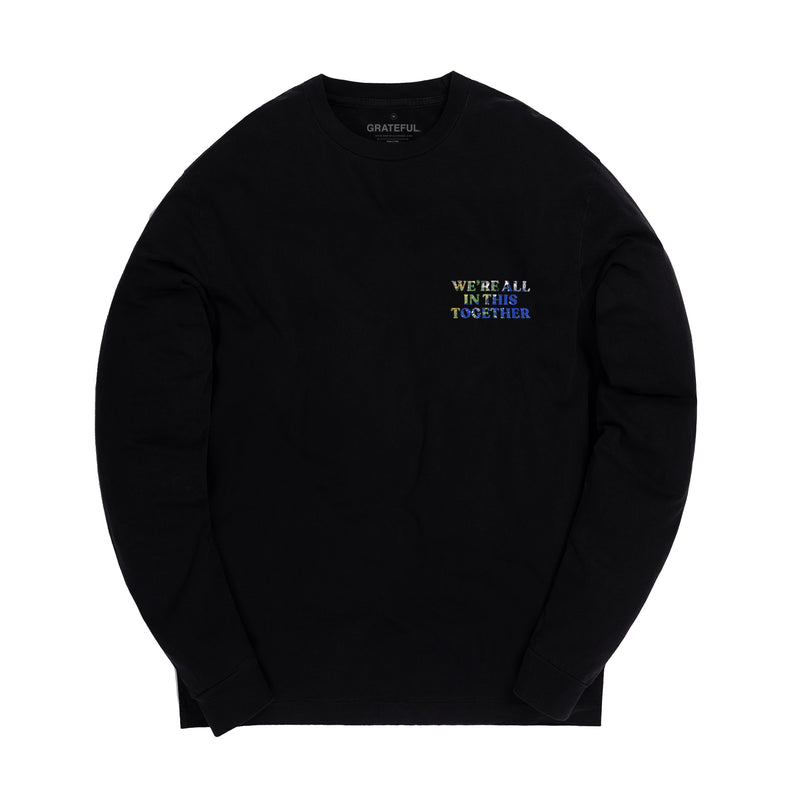 """Still in This Together"" Black Longsleeve Tee"