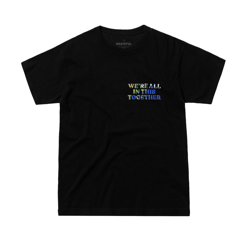 """Still in This Together"" Earth Black Tee"