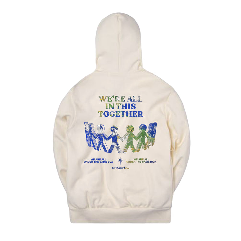 """Still In This Together"" Bone Hoodie"