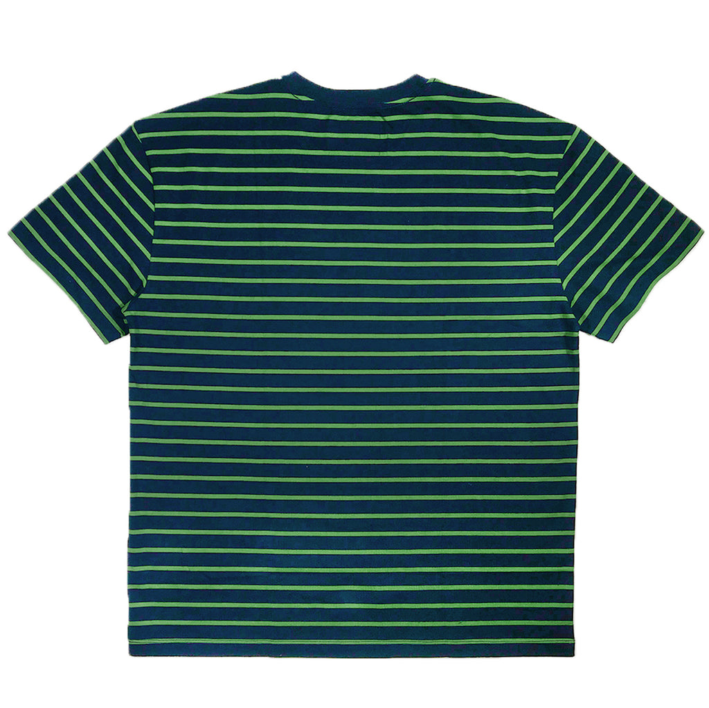 Striped Tee Navy/Green