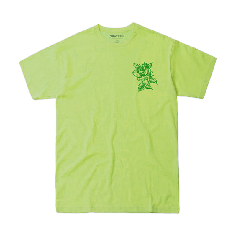 """Smell The Roses"" Neon Tee"