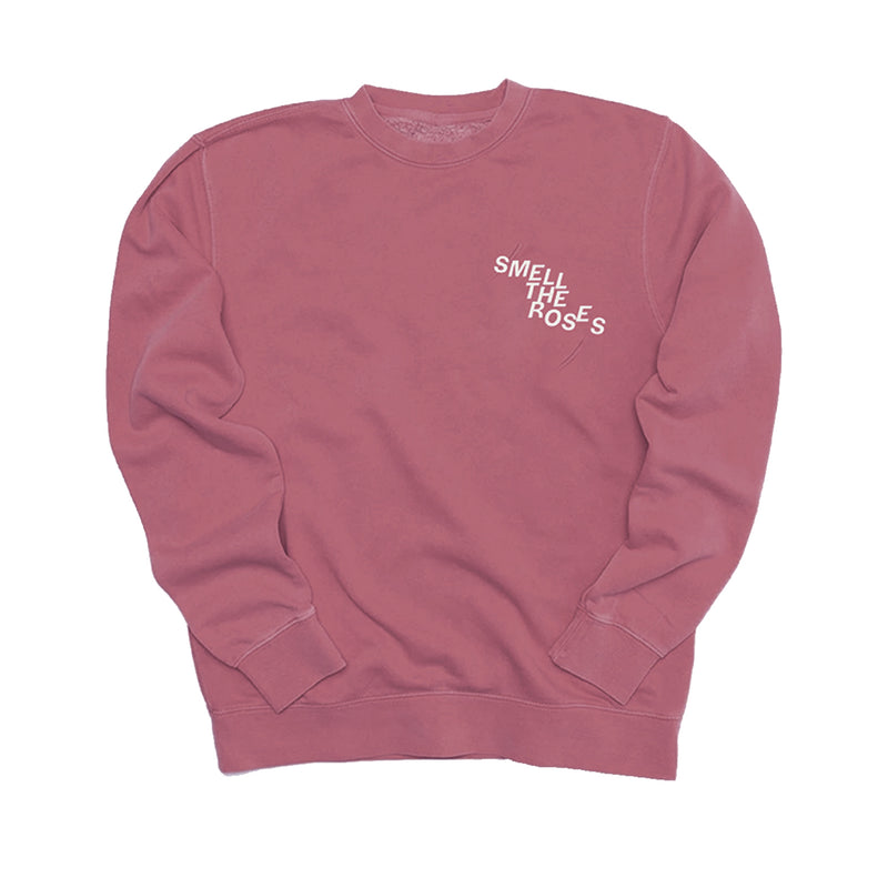 """STR"" Staggered Crewneck Rose Gold"
