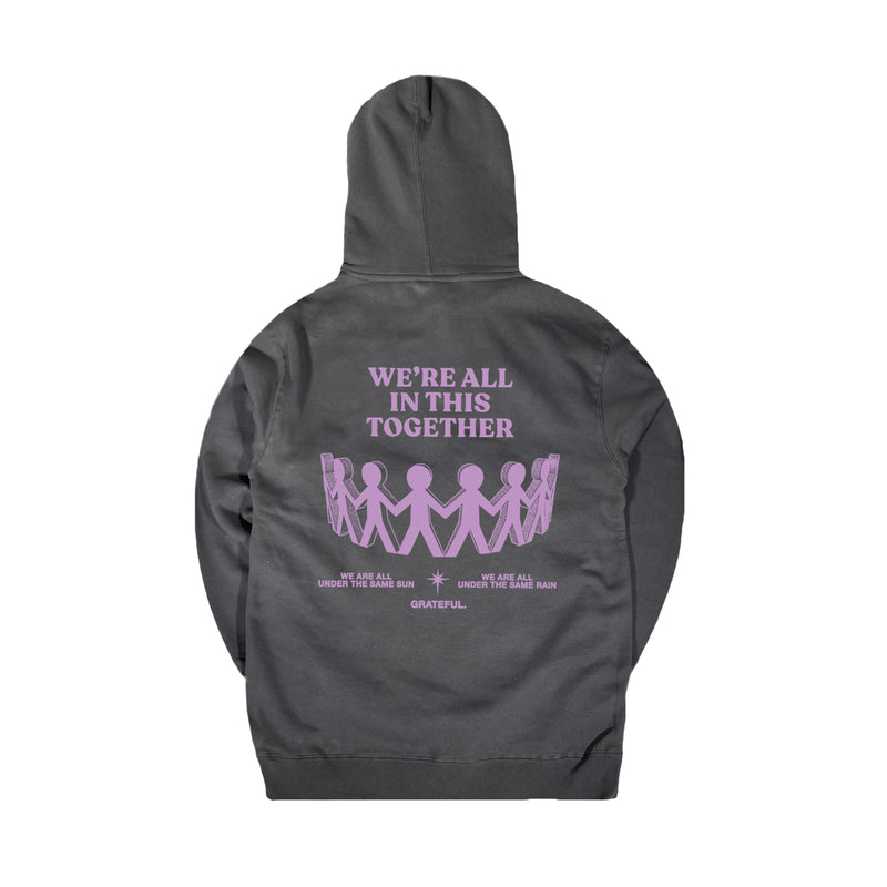 """In This Together"" Charcoal Hoodie"