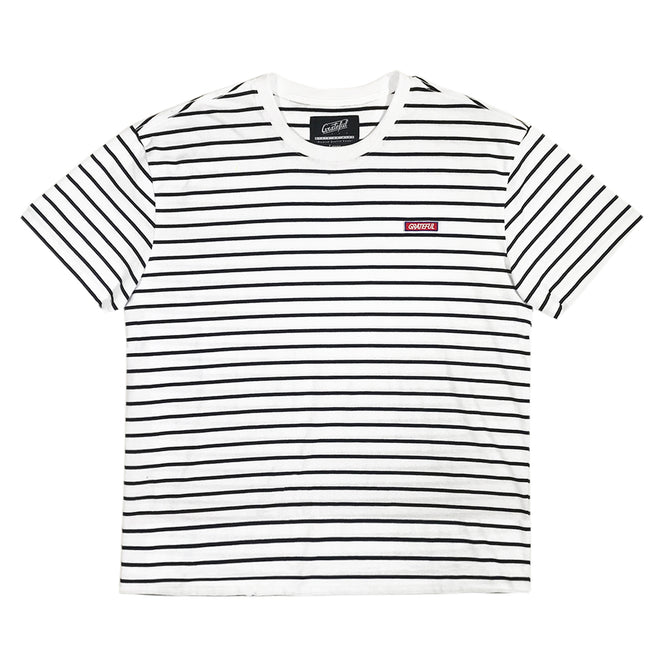 6d3d984ade Striped Tee White/Black