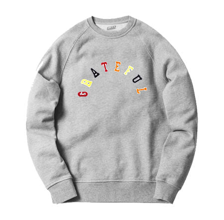 Tribeca Grateful Arched Crew Neck [Gray]