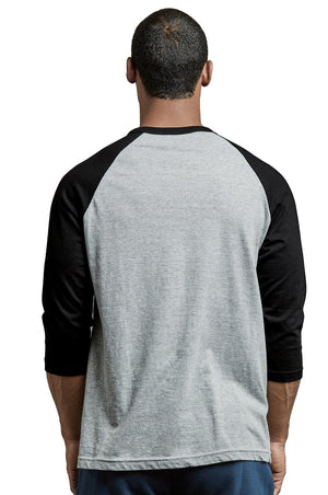 Men's 3/4 Sleeve Baseball Tee