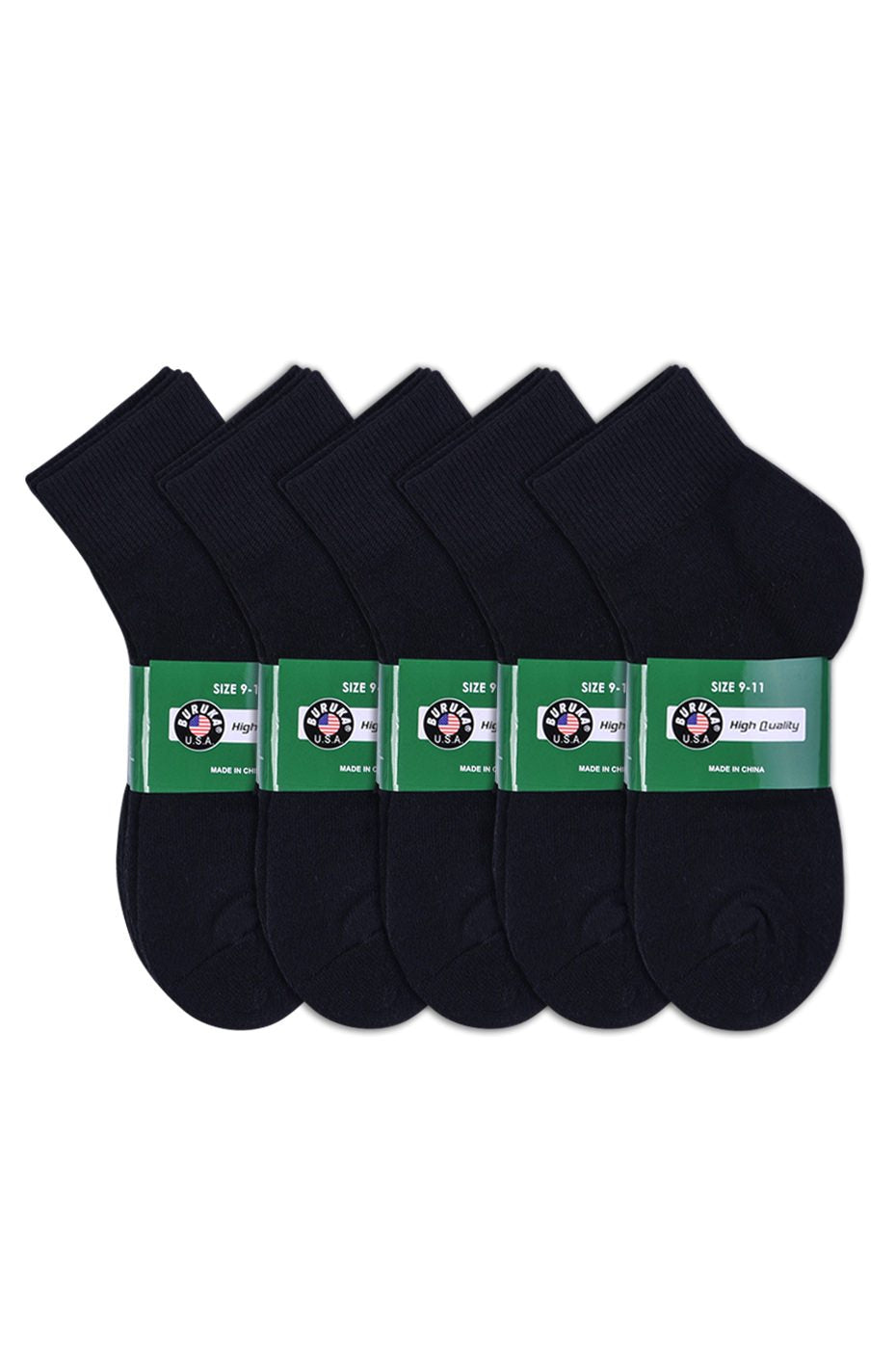 12 PACK OF QUARTER SPORTS SOCKS - Ward and Parish