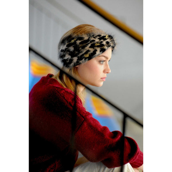 Headband Leopard Suzanne Ceremony